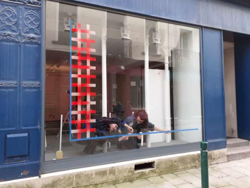 """Frac des Pays de la Loire Exposition """"Y es tu?"""" Irma Kalt et Laura Orlhiac"""