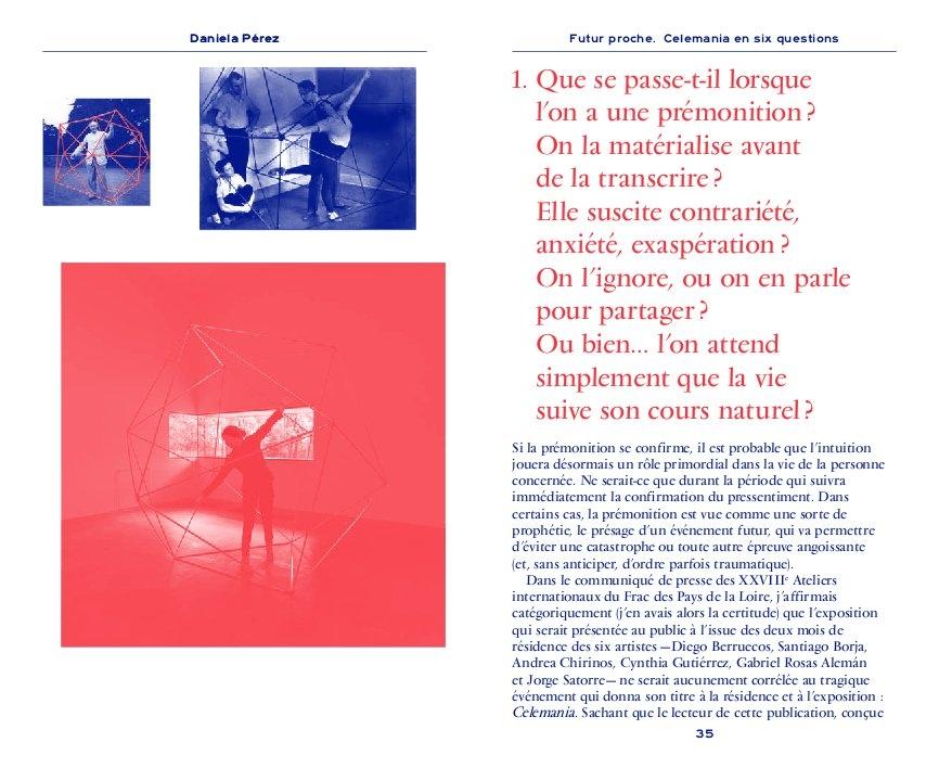 """Frac des Pays de la Loire 28e Ateliers Internationaux """"Celemania"""" 2016"""