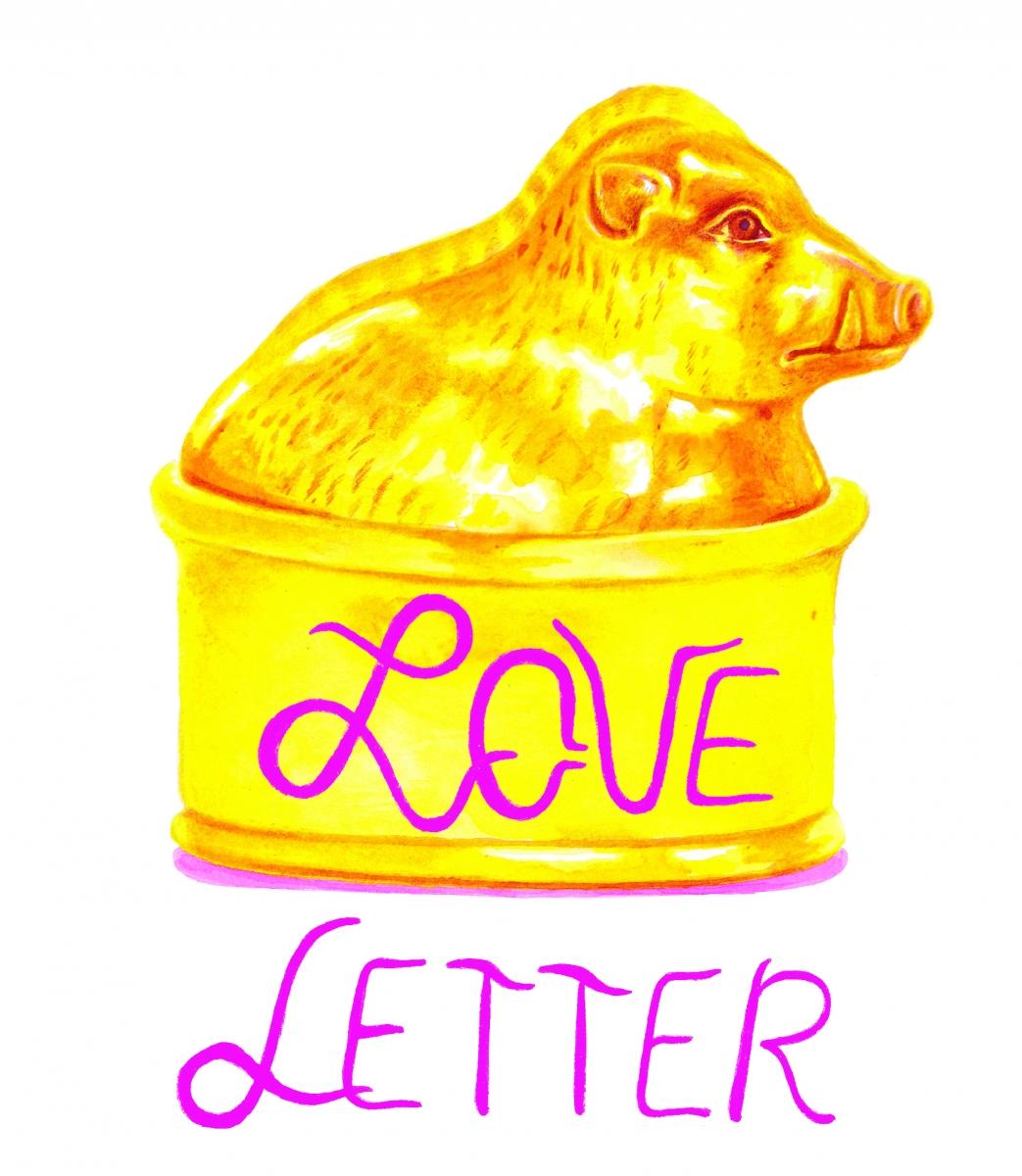 """Frac des Pays de la Loire Exposition """"Love Letter"""" Léa Henry 2021"""