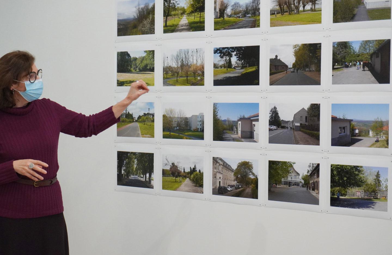 """Frac des Pays de la Loire exposition Claire Chevrier """"espaces traversés"""" 2021"""