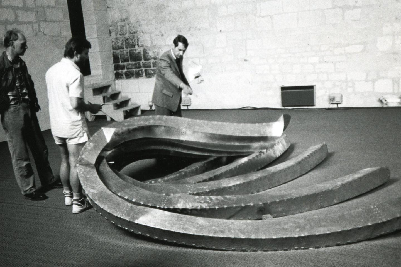 Richard Deacon, 1er Atelier Internationaux du Frac des Pays de la Loire_2