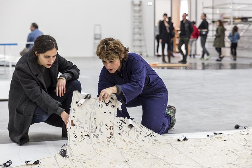Rosario Lopez à la rencontre du public, XXXIIe Ateliers Internationaux du Frac des Pays de la Loire