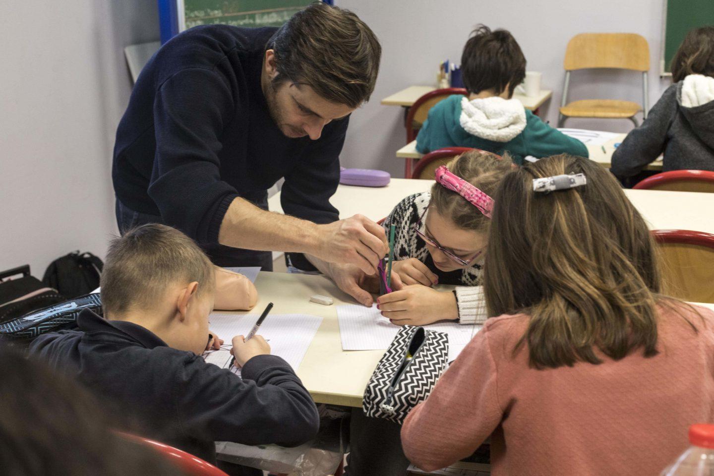 Atelier mené par l'artiste Olivier Garraud dans 4 écoles de la commune de Nozay